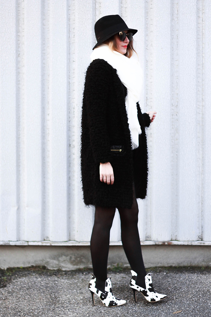 long sweater look