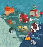 . a little easier. This week I completed a map for Charleston Magazine.