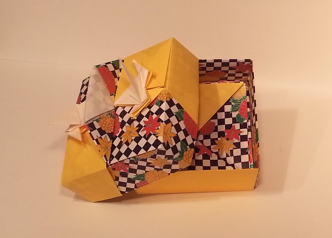 Joyful Origami Boxes By Tomoko Fuse Book T Diagrams Box Me Fuglum Og Handfangi Hanna Af
