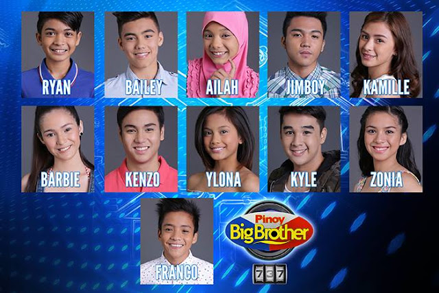 Pinoy Big Brother 737 2nd Nomination Night Results