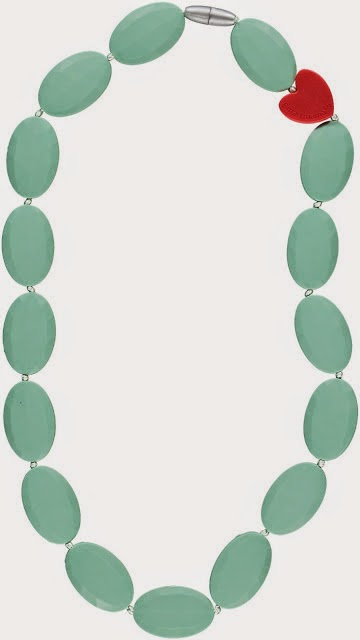 Bijtketting Bridget Jade Green