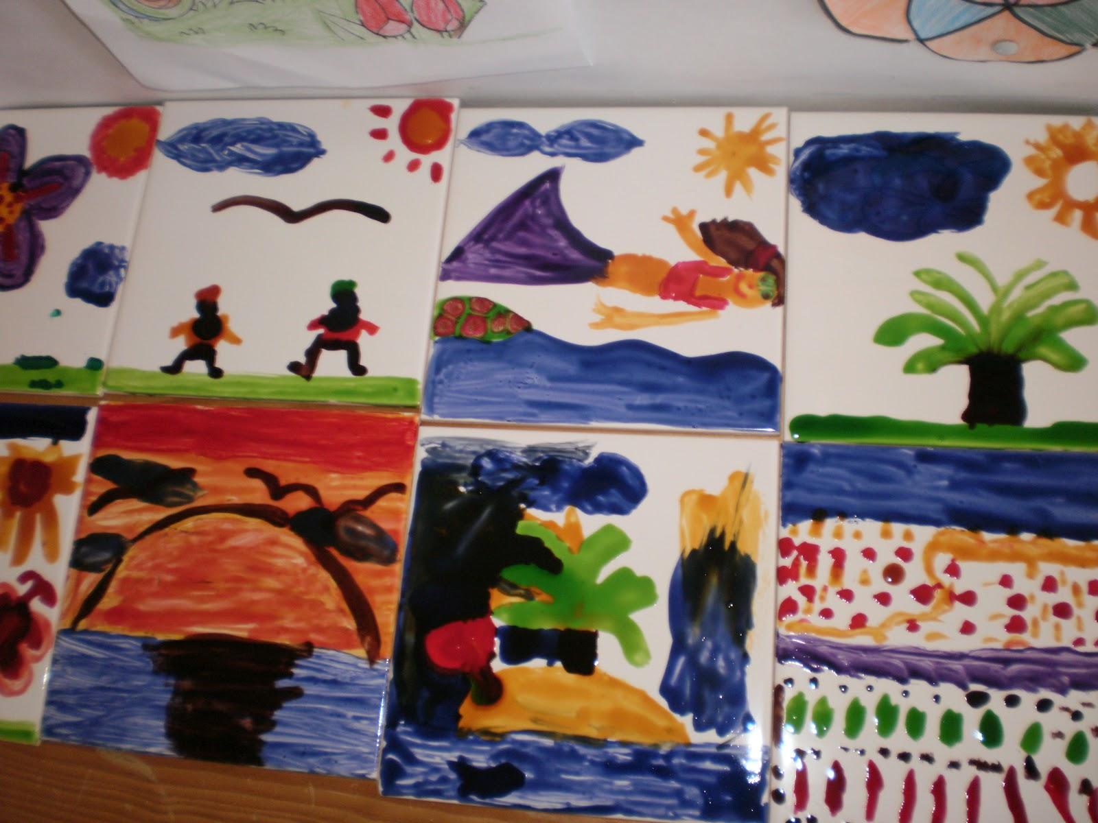 Sismaritos curiosos pintura de azulejos - Pintura de azulejos ...