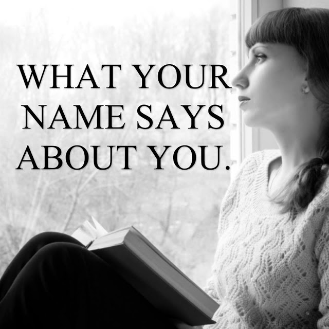 WHAT DOES THE FIRST LETTER OF YOUR NAME SAY ABOUT YOU