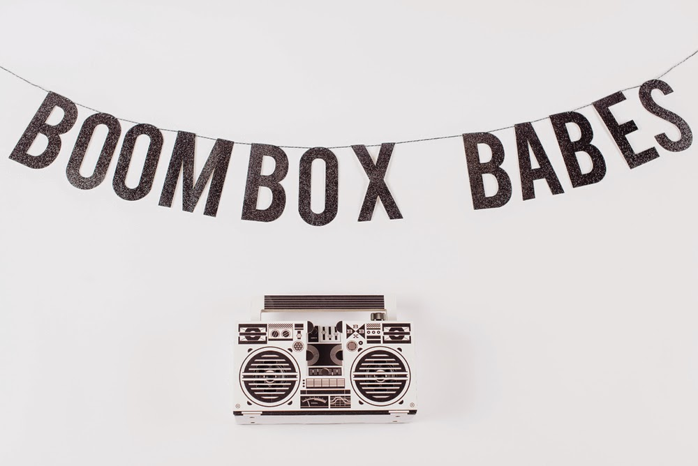 LOT801 SS15 kidswear collection Boombox Babes