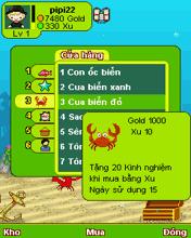 Game Biển Xanh Sôi Động Online