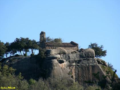 L'ermita de Sant Feliuet de Savassona. Autor: Carlos Albacete