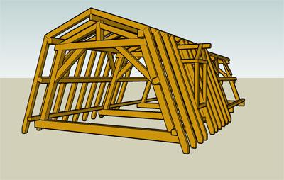 Construirea unei mansarde poate fi facuta fara acordul for Mansard roof construction details