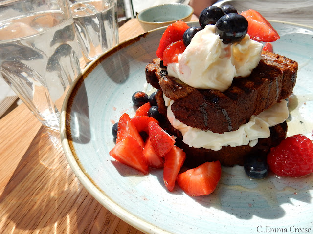 Beany Green, Liverpool Street London Brunch review