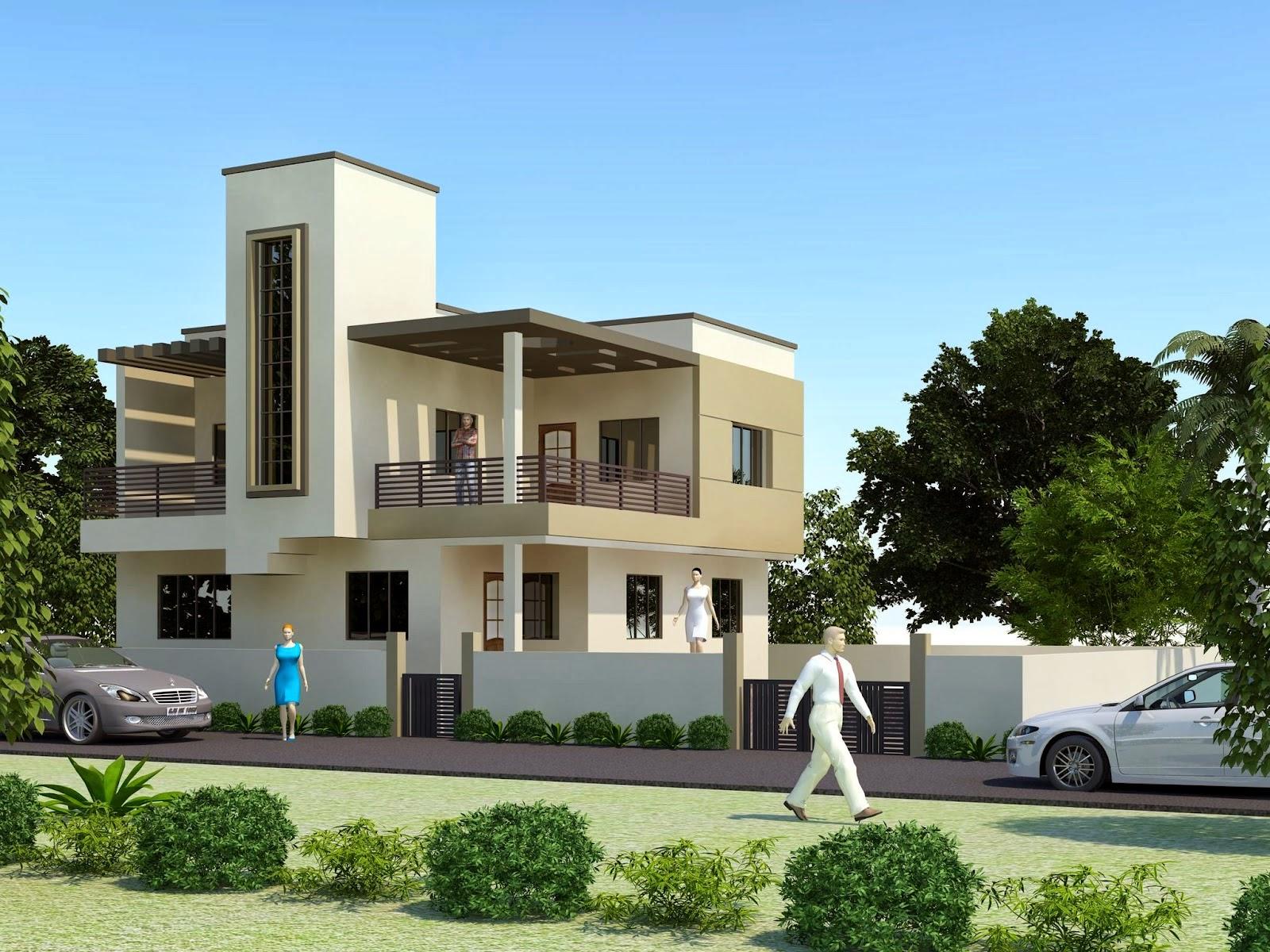 Modern mansion exterior - Luxury Modern House Exterior Design