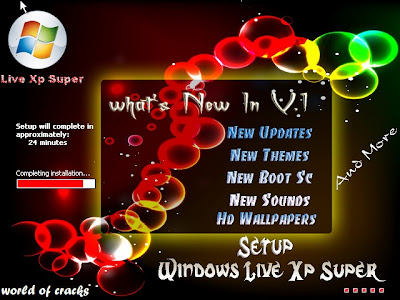Microsoft Windows Live XP Super 2013 v1.0 Screenshot01