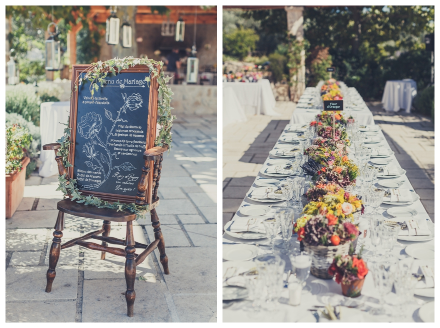 A Rustic French Wedding With A Flower Market Theme The Reception