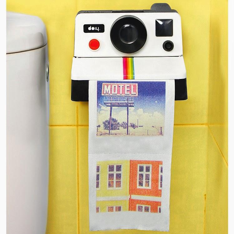 Papel higiénico con Fotos Instantáneas