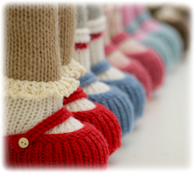 ♥ Mary Jane Knitted Shoes....