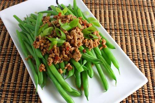 ... green beans green beans with bacon roast green beans fresh green beans