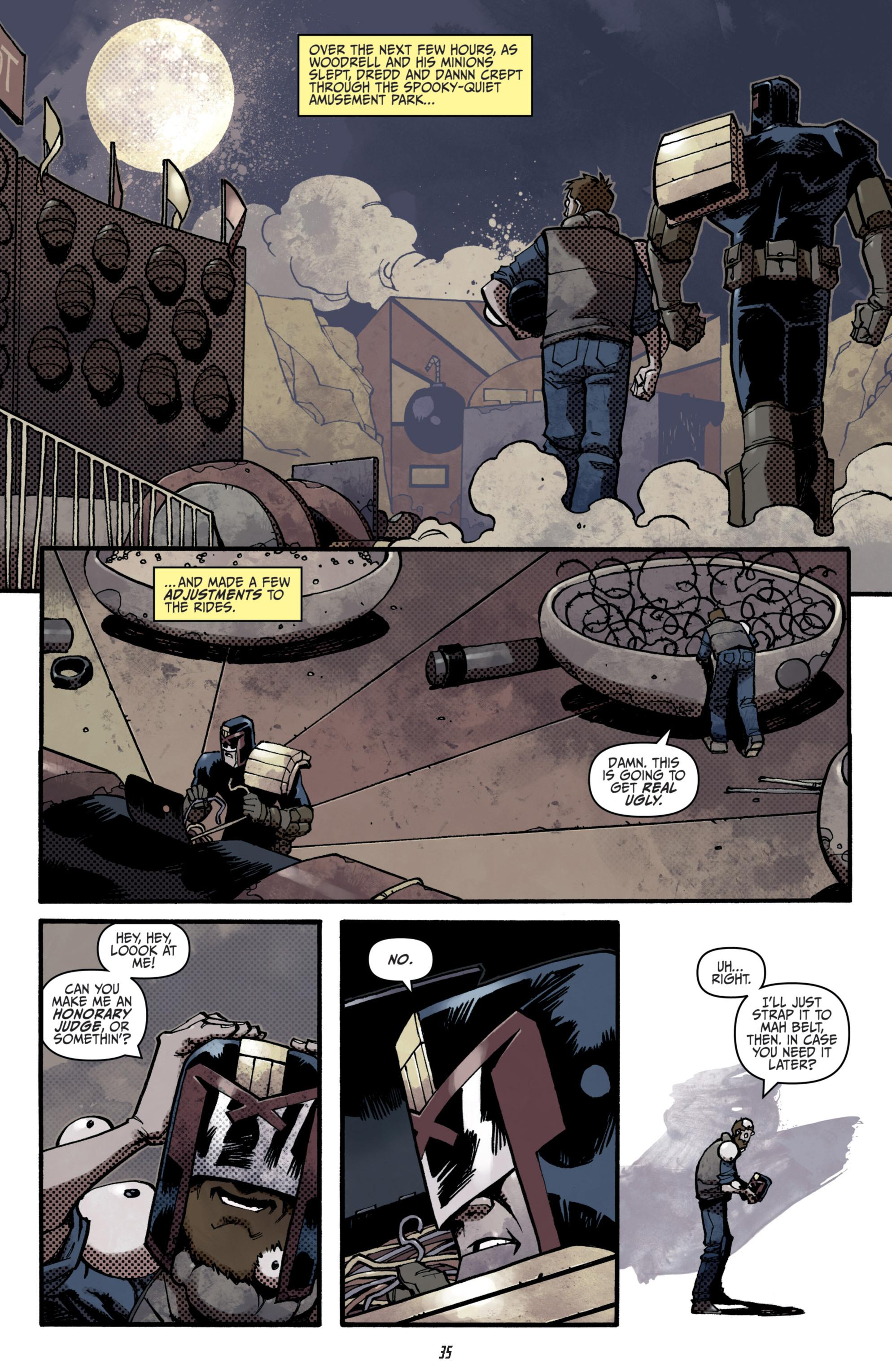 Read online Judge Dredd (2012) comic -  Issue # _TPB 3 - 35