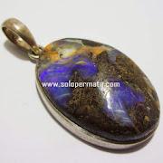 Batu Permata Boulder Opal - kode 03k05