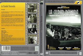 Crátula: La ciudad desnuda / The Naked City