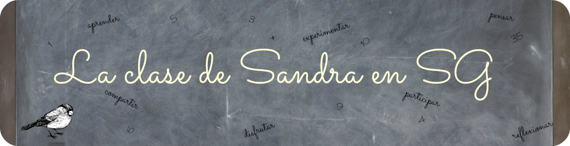 La clase de Sandra en SG