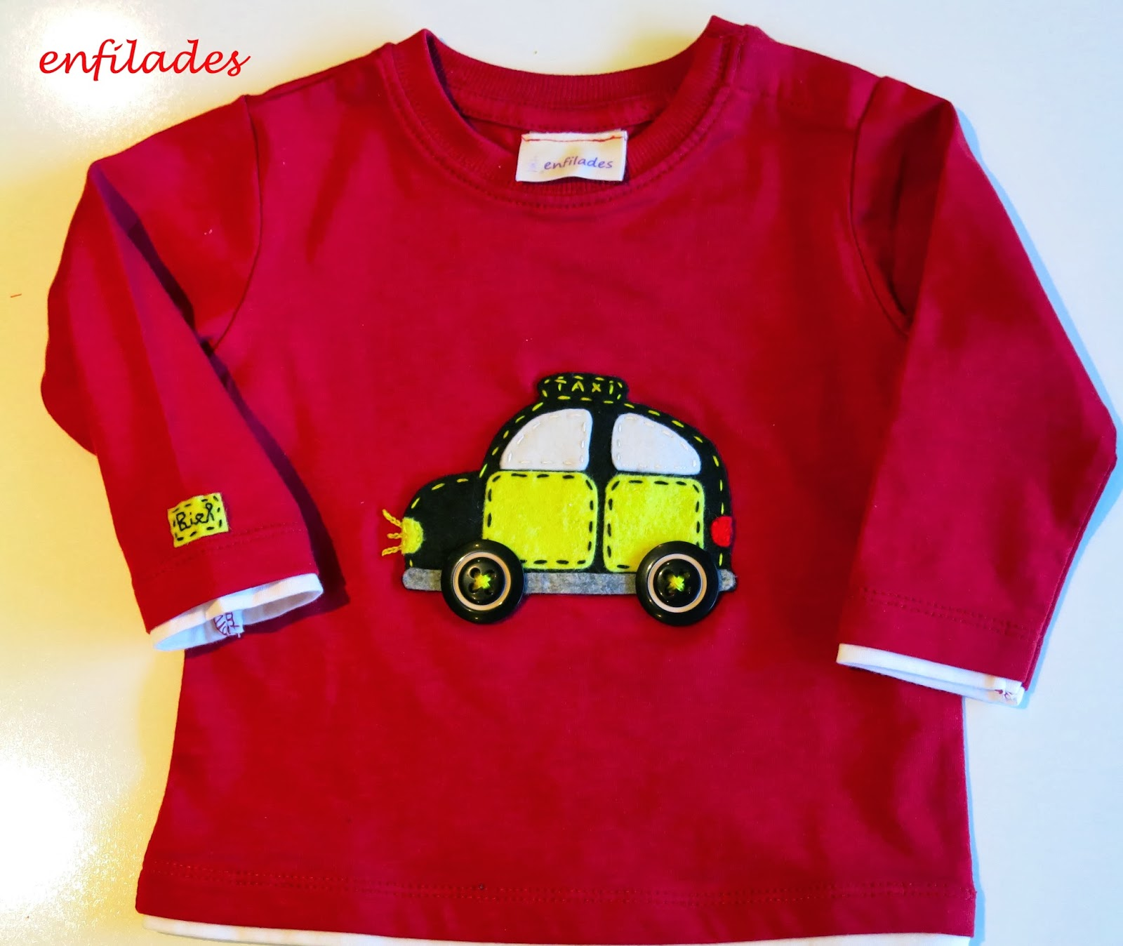 samarreta Taxi BCN - web enfilades.cat fet a mà