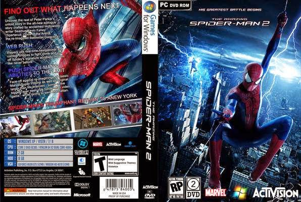 download game the amazing spider man 2 pc full version