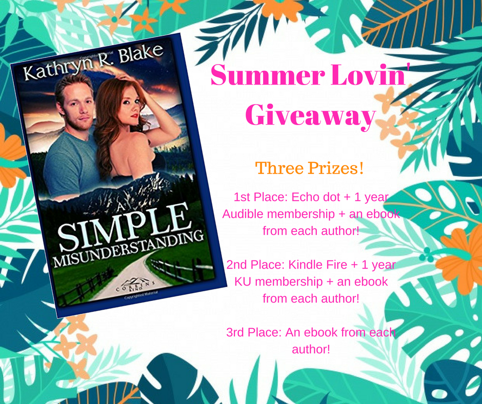 Summer Lovin' Giveaway May 1-21, 2018