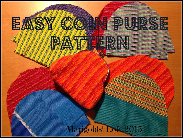Easy Coin Pattern Purse