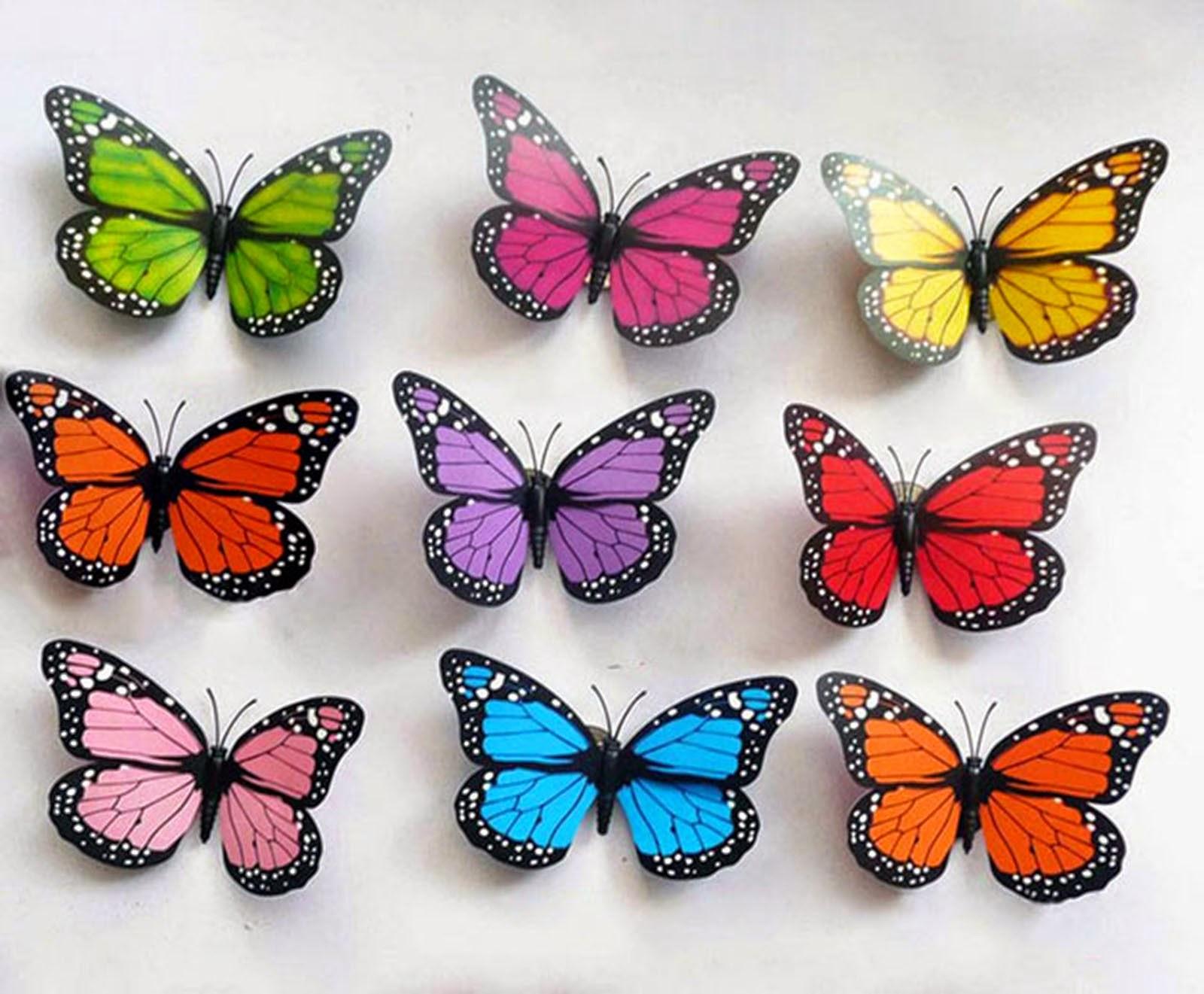 Figuras personalizadas boda y ramos de mariposas para - Mariposas para pared ...
