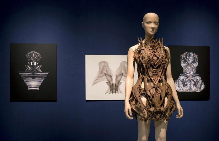 New Couture by Iris van Herpen at Design Museum Holon