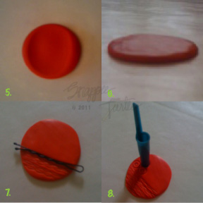 polymerclaybuttontutorial5 8 Polymer Clay Button Tutorial