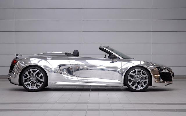 Audi Chrome Cabrio