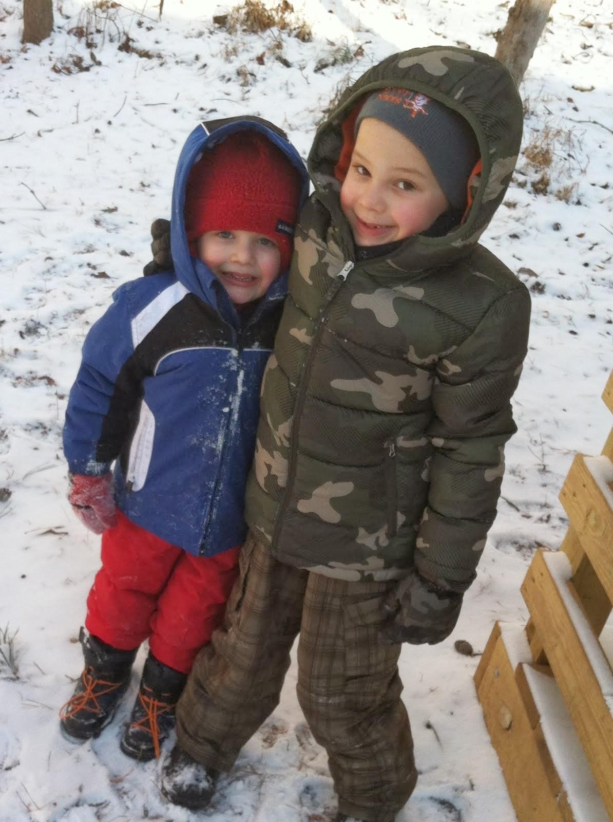 Caleb and Adam!