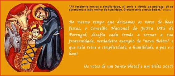 JUFRA - BOAS FESTAS