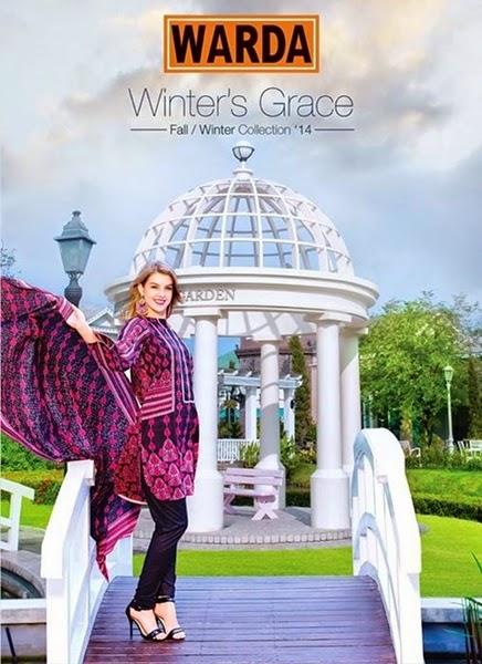Winter's Grace'14 by Warda Designer
