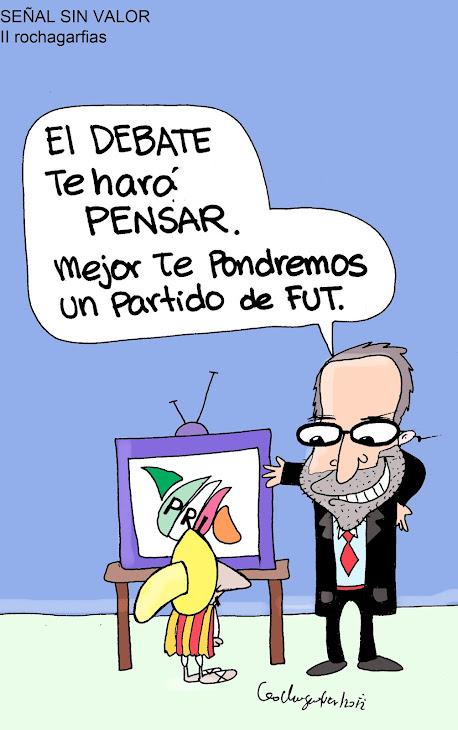 ...Tan lejos de dios y tan cerca de TV Azteca (y Televisa).