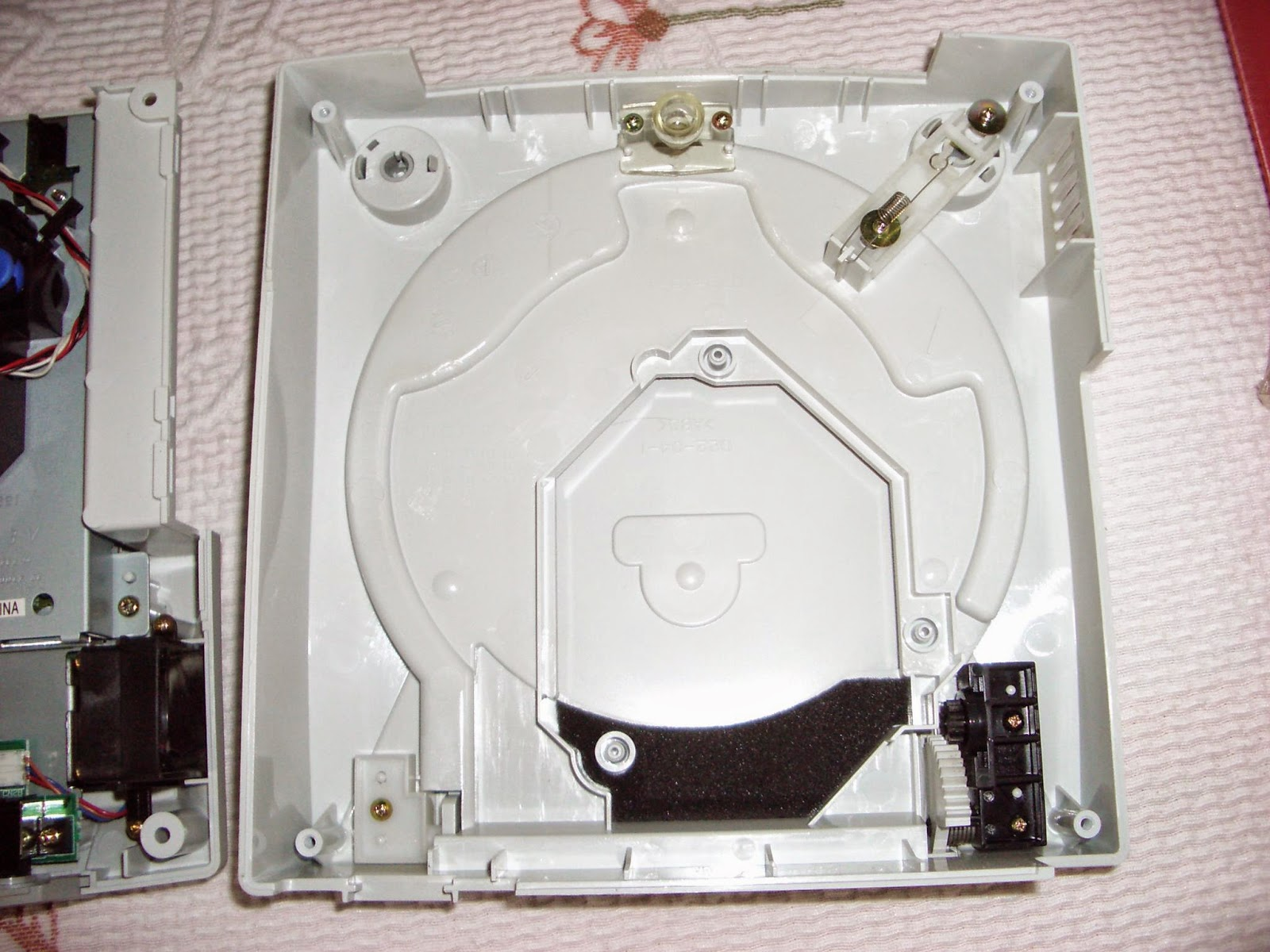 Parte superior de la Dreamcast