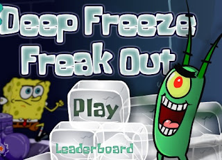 SpongeBob SquarePants Deep Freeze Freak Out