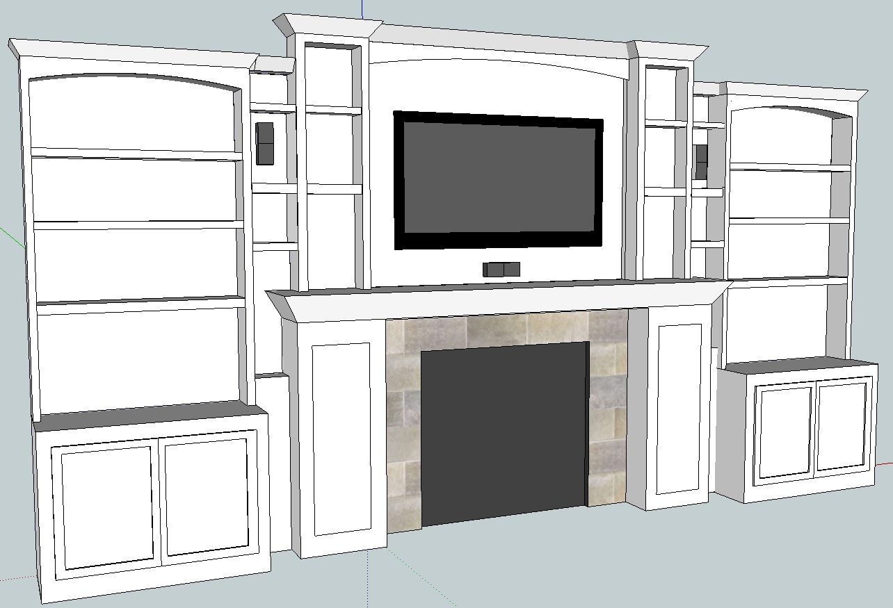 Cabinet Built In Plans Pdf Woodworking