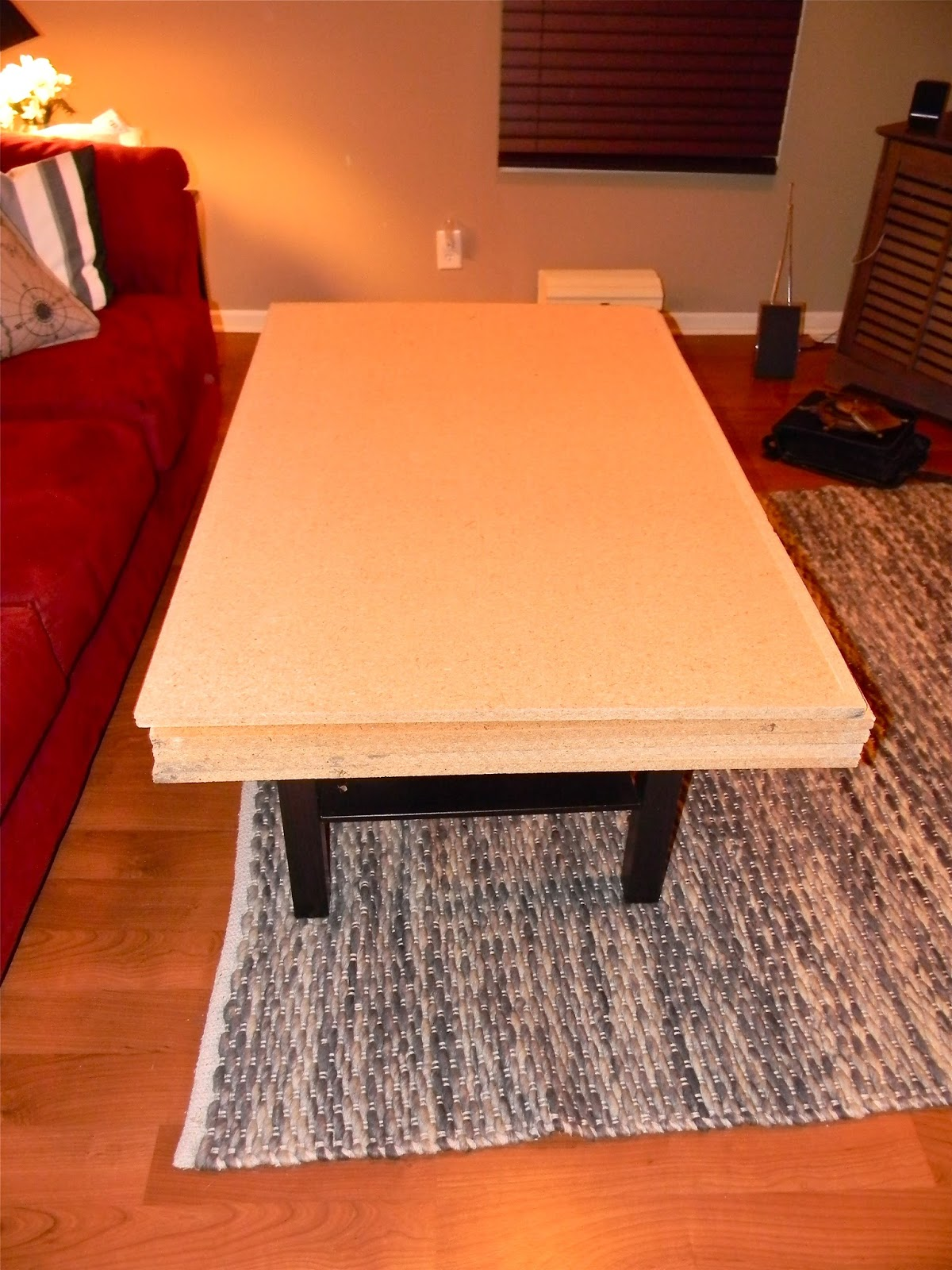 Crafts and chaos do it yourself ikea coffee table revamp crafts and chaos Do it yourself coffee table