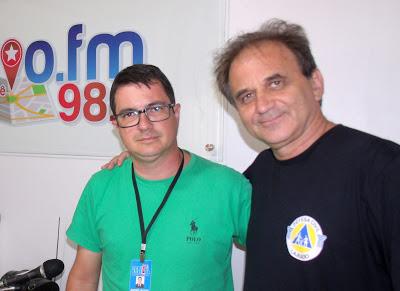 Airton Engster dos Santos e André Sauter