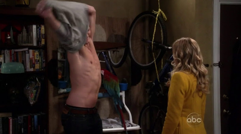 Hartley Sawyer Shirtless in Don't Trust the B---- in Apartment 23 s1e06