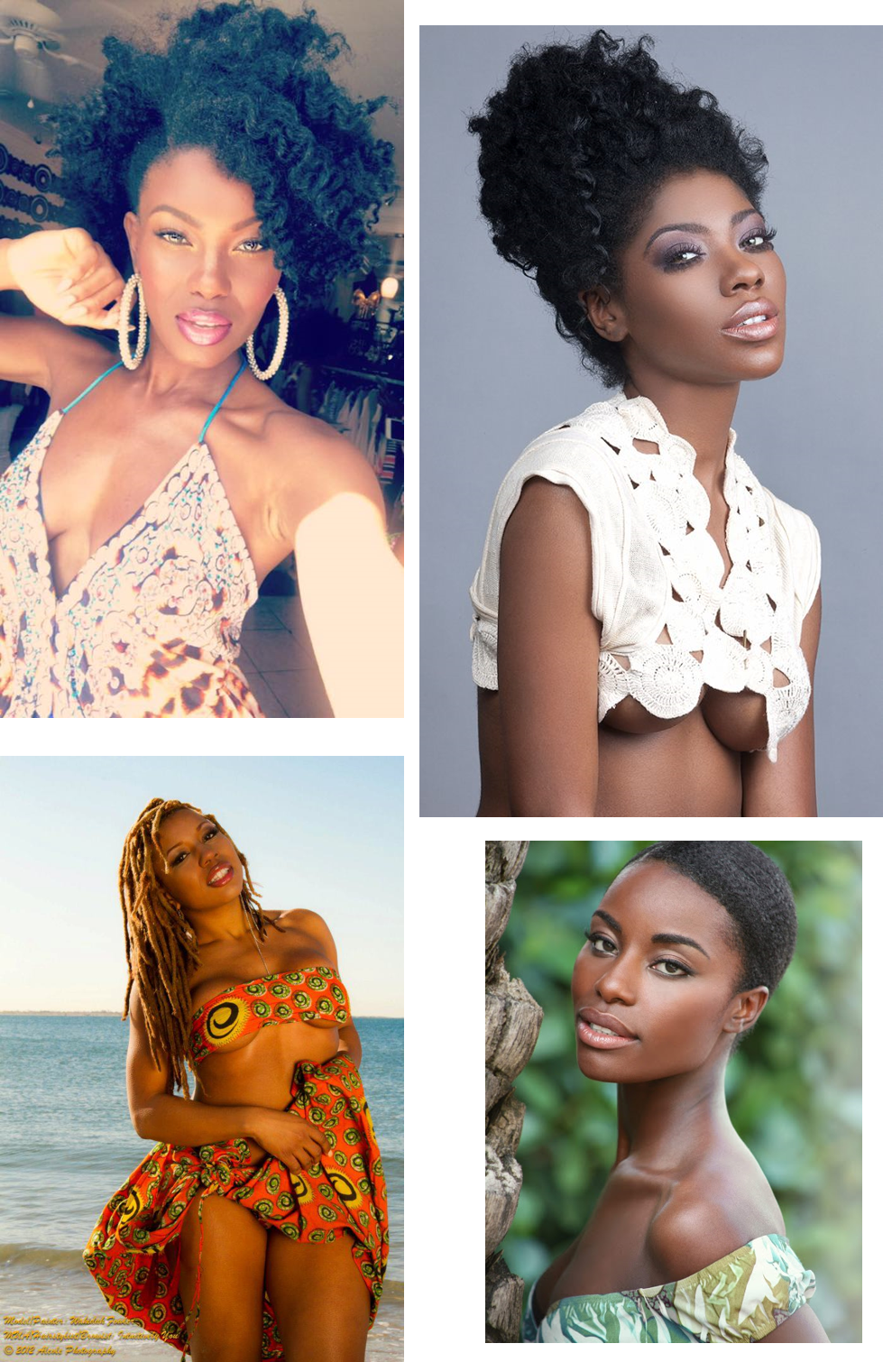 Natural Hair models
