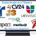 Ratings de la TVboricua (domingo, 25 de septiembre de 2011)
