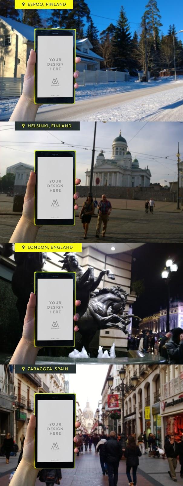 Mock-Up, mockup dosyası, mockup indir, lumia 1520 psd, akıllı telefon mockup indir, nokia mockup indir, psd dosyası, photoshop,