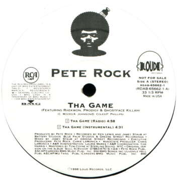 Pete Rock – Tha Game / One Life To Live (VLS) (1998) (320 kbps)