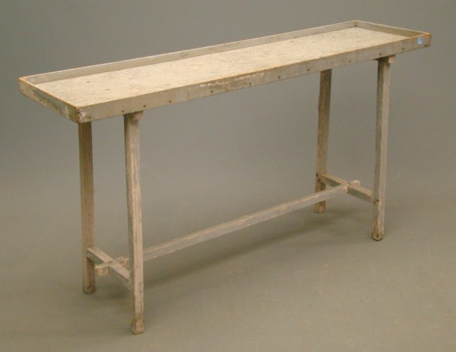 Auction decorating dare to be rustic for Long sofa table 60
