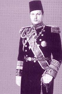 Farouk Ier, roi d'Egypte (1920-1965)