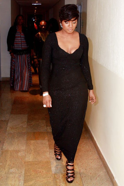 Omotola Jalade Ekeinde Receives Award, Shares It On Her Twitter Page – Photo