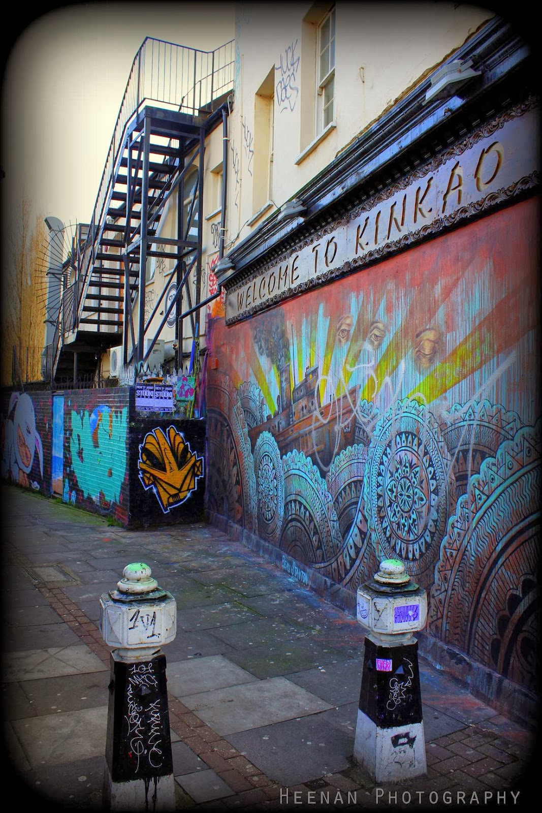 """Welcome to Kinkao"", urban photography in Brick Lane by photographer Tom Heenan."