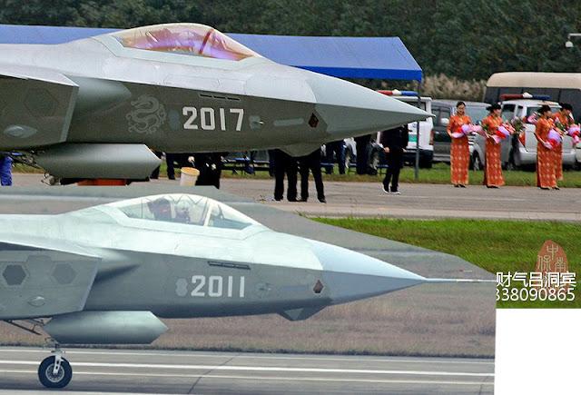 Defesa em Arte: Chengdu apresenta J-20 -17 pronto para ensaios de voo