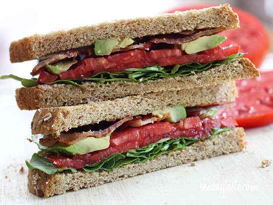 For the bacon lovers in your life! Bacon, lettuce, tomato and avocado ...